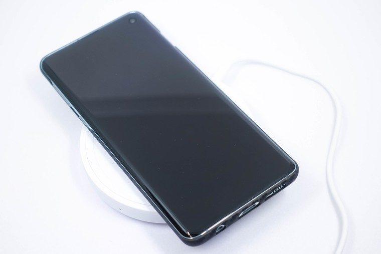 Galaxy S10 ワイヤレス充電