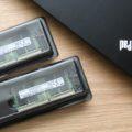 ThinkPad L390のメモリを32GB×2の64GBに交換