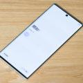 なかなか悩む「Galaxy Note10+」の表示サイズ設定