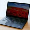 Xシリーズ最強の高性能ノートPC「ThinkPad X1 Extreme」レビュー
