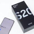 「Galaxy S20 5G SC-51A」(クラウドホワイト)を写真でチェック