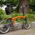 セミオーダーの英国製折りたたみ自転車「BROMPTON S1E B-Spoke」が納車されました
