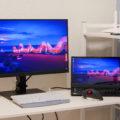 ケーブル1本でノートPCを拡張できる23.8型WQHDディスプレイ「ThinkVision P24h-20」レビュー